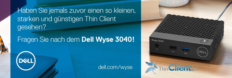 Thin Client - hardware en software 3040>Linux/ThinOS - 3000er Serie