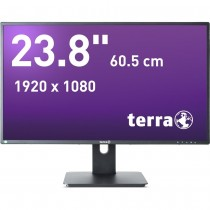 Terra Greenline Plus LED 2456W PIVOT Zwart