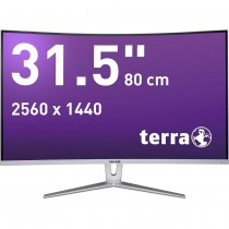 TERRA LCD/LED 3280W silver/white CURVED