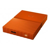WD My Passport  3TB HDD Oranje